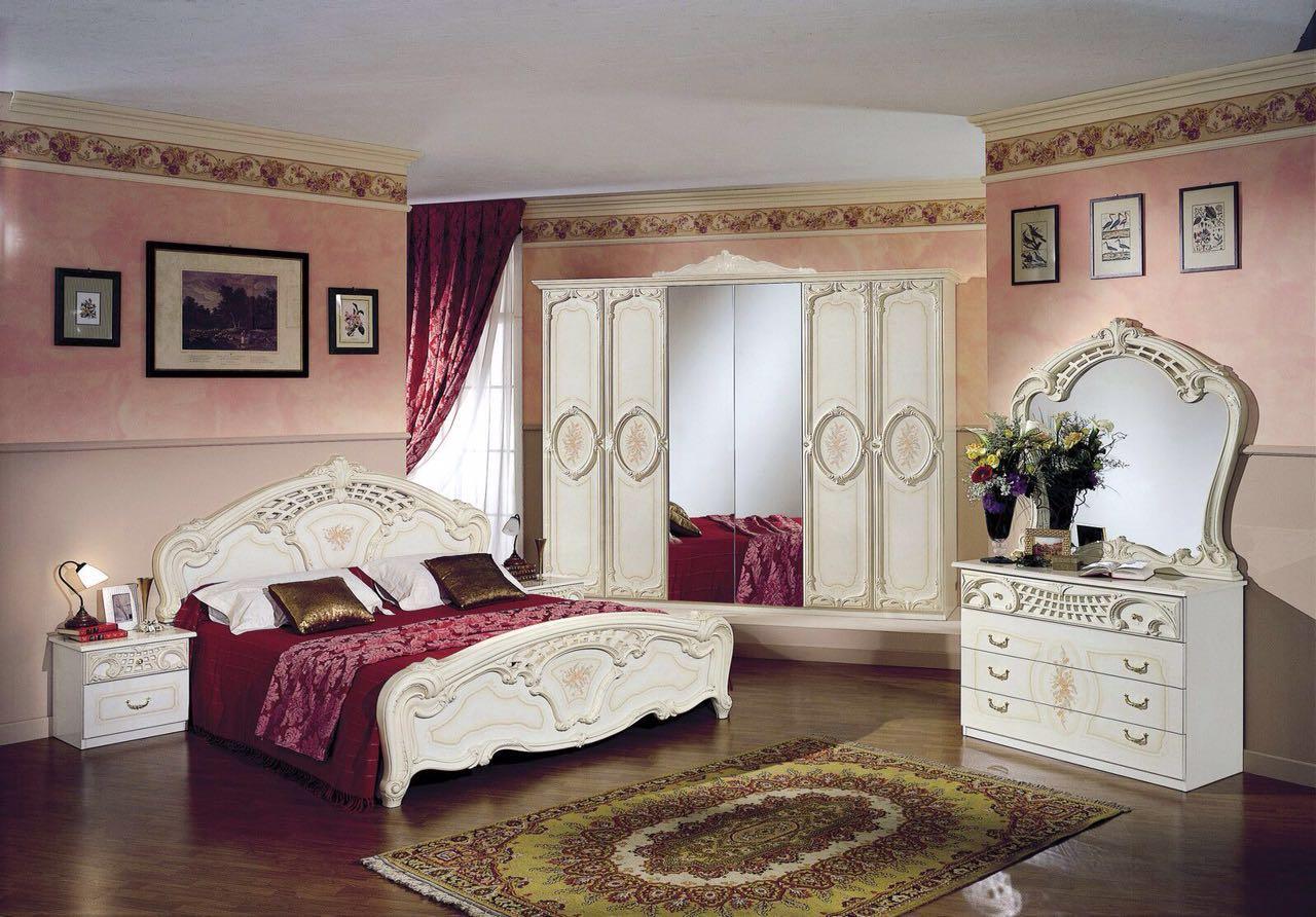 Schlafzimmer Creme Beige