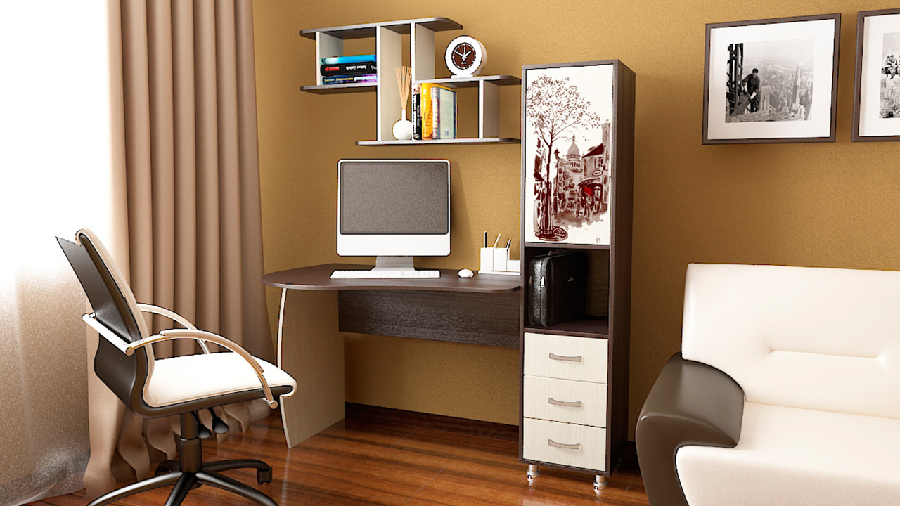 Виды компьютерных столов для дома фото.